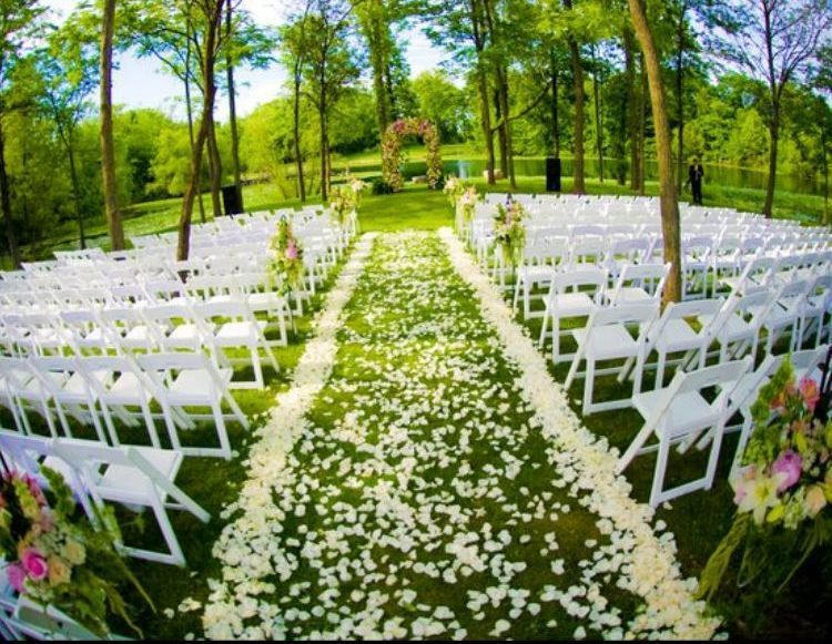 For your wedding we have tables, chairs, linens, tents, dance floor